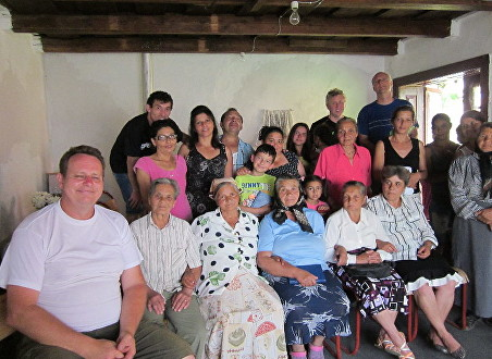 Secuieni Church bible study group