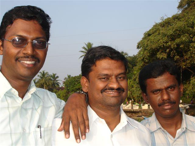 Picture 1 VMM, Santosh, David, Anand
