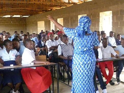 Pic 5 G&L teaching in school