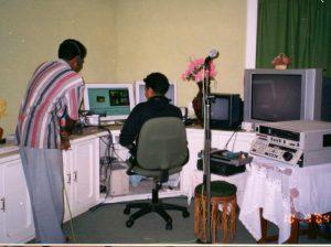 Editing in VFC home studio