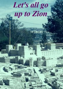 Book Title - Lets all go up to Zion